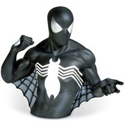 Marvel Spider-Man Black Costume Bust Bank