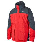 Berghaus Men's Suilven Shell Jacket - Red/Dark Grey
