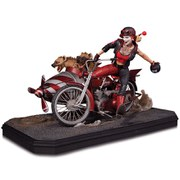 DC Collectibles DC Comics Gotham City Harley Quinn Deluxe Statue