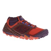 Merrell Women's All Out Terra Trail Shoes - Wild Plum/Red