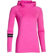 Under Armour Women's Fly Fast Long Sleeve 1/2 Zip Top - Rebel Pink/Silver
