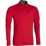 Under Armour Men's ColdGear Infared Long Sleeve 1/4 Zip Top - Red