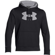 Under Armour Men's Storm Armour Fleece Big Logo Hoody - Black