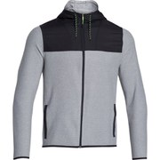 Under Armour Men's ColdGear Infrared Full Zip Hoody - Steel