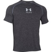 Under Armour Men's Run Twist Short Sleeve T-Shirt - Steel