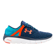 Under Armour Men's Speedform Fortis Running Shoes - Blue/White