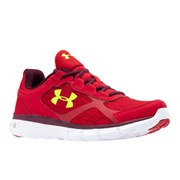 Under Armour Men's Micro G Velocity RN Running Shoes - Red/Yellow