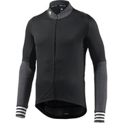 adidas Men's Adistar Belge Long Sleeve Jersey - Black