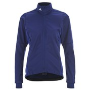 adidas Women's Response Warm Jacket - Indigo/Green