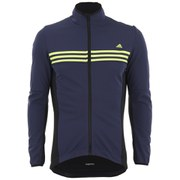 adidas Men's Response Warm Jacket - Grey/Black/Yellow