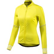 adidas Women's Adistar Belge Long Sleeve Jersey - Yellow
