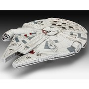 Star Wars The Force Awakens Millennium Falcon Build And Play Light Up Model Kit