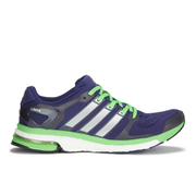 adidas Men's Adistar Boost ESM Running Shoes - Purple/White/Green