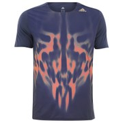 adidas Men's Adizero Running T-Shirt - Navy
