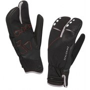 SealSkinz Highland XP Claw Mittens - Black/Silver