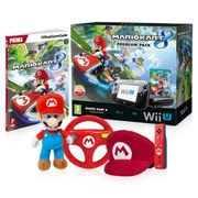 Wii U Mario Kart 8 Red Mario Bundle
