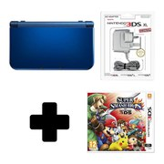New Nintendo 3DS XL Metallic Blue + Super Smash Bros. for 3DS