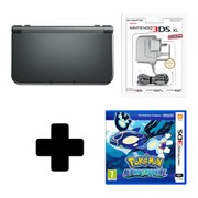 New Nintendo 3DS XL Metallic Black + Pokémon Alpha Sapphire