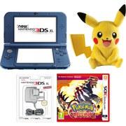 New Nintendo 3DS XL Metallic Blue+ Pokémon Omega Ruby