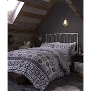 Catherine Lansfield Oslo Bedding Set - Grey