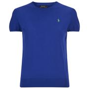 Polo Ralph Lauren Women's Short Sleeve Sweatshirt - Cruise Royal
