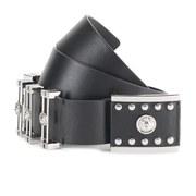 Versus Versace Women's Belt - Black/Silver
