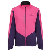 RonHill Women's Vizion Windlite Jacket - Pink/Wildberry