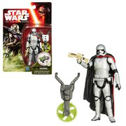 Star Wars The Force Awakens Jungle and Space Captain Phasma 4 Inch Action Figure