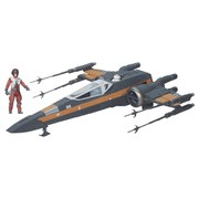 Star Wars The Force Awakens Class III Poe's X-Wing Starfighter Vehicle