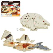 Star Wars The Force Awakens Micro Machines Millenium Falcon Set