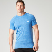 Myprotein Performance Männer Kurzarm-Top - Blue Marl