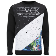 Hack Men's Erasmus Block Sweatshirt - Black