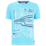 Smith & Jones Men's Dillington Print T-Shirt - Capri