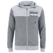 Smith & Jones Men's Brantridge Hooded Jacket - Light Grey Marl