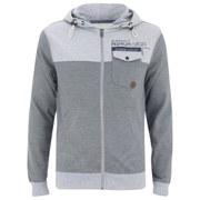 Smith & Jones Men's Brantridge Hooded Jacket - Light Grey Marl