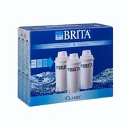 BRITA Classic Water Filter Cartridges (3 Pack)