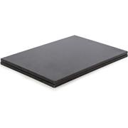 Natural Life NLGR003 Set of 2 Rectangular Placemats - Black