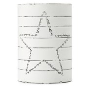 Nkuku Star Can Lantern - Small (12 x 8.5cm)