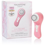 Magnitone BareFaced Vibra-Sonic™ Daily Cleansing Brush - Pastel Pink