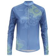 Primal Women's Kashmir Heavyweight Long Sleeve Jersey - Blue