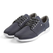 Boxfresh Men's Struct Ripstop Low Top Trainers - Navy/White