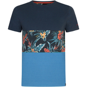 Animal Men's Jonas Cut & Sew T-Shirt - Indigo Blue