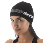 Santini Krios Knitted Hat - Black