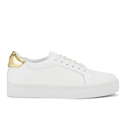 Senso Women's Andy III Leather Trainers - Gold