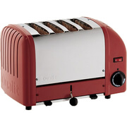 Dualit 40353 Classic Vario 4 Slot Toaster - Red