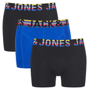 Jack & Jones Men's 3-Pack Mixtype Boxers - Black
