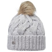 Buff Knitted Nadia Chic Hat - Grey