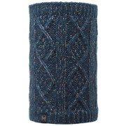 Buff Knitted and Polar Gymmer Neckwarmer - Denim/Grey