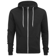 Soul Star Men's Berkley Zip Through Hoody - Black