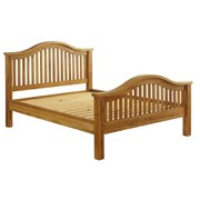 Vancouver Oak VXB005 Bed Frame - King (High End)